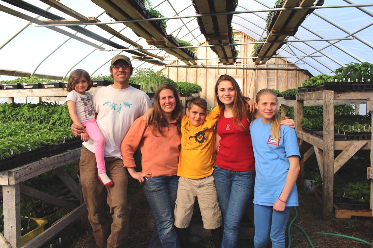 We're a family of farmers in Downeast Maine