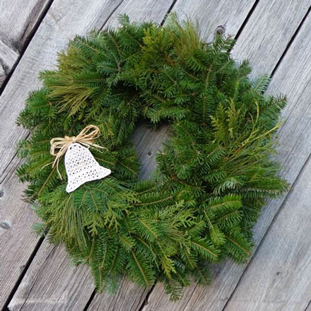 The Tide Mill Keepsake Wreath