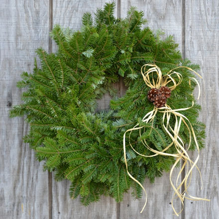 The Tide Mill Natural Wreath