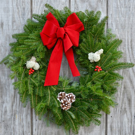 The Tide Mill Traditional Wreath